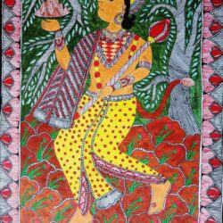 buy mithila painting of lord hanuman