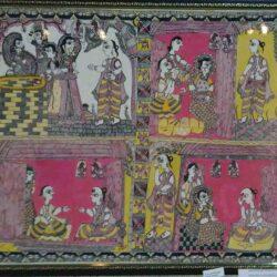 Mithila Painting on Mandan Mishra