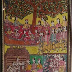 Mithila Painting on Saurath Sabha