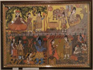 Buy Kamini Kashyap Mithila painting of Ugna Vidyapati