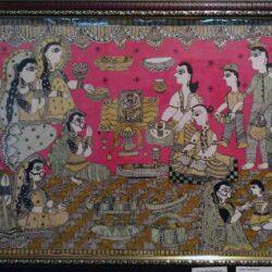 Mithila Painting on Anant Chaturdashi