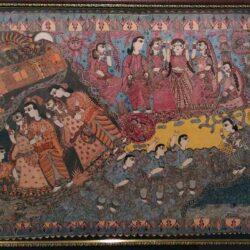 Kamini Kashyap Mithila Painting on Folk Dances of Mithila