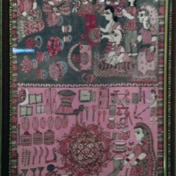 Mithila Painting on Devotthan Ekadashi in Mithila