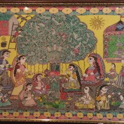 Mithila Painting of Vat Savitri