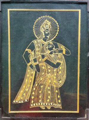 sikki radha krishna framed