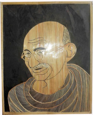 Sikki Framed Mahatma Gandhi