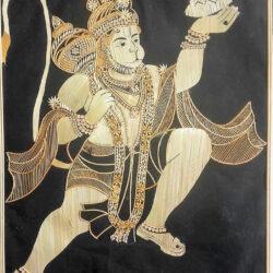 sikki framed hanuman