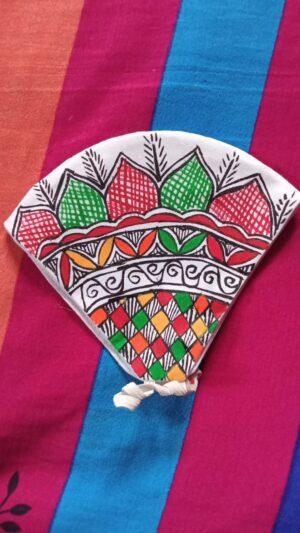 buy mithila painting mask