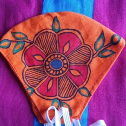 Mithila Painting Mask for Kids