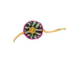 buy antique rakhi made of sikki