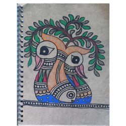 Buy diary with Mithila Painting